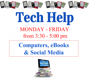 Tech Help: Computers, eBooks & Social Media
