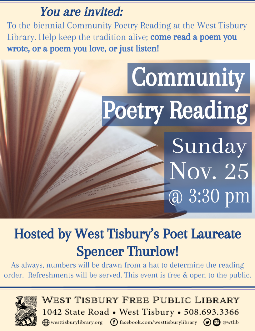 Community Poetry Reading