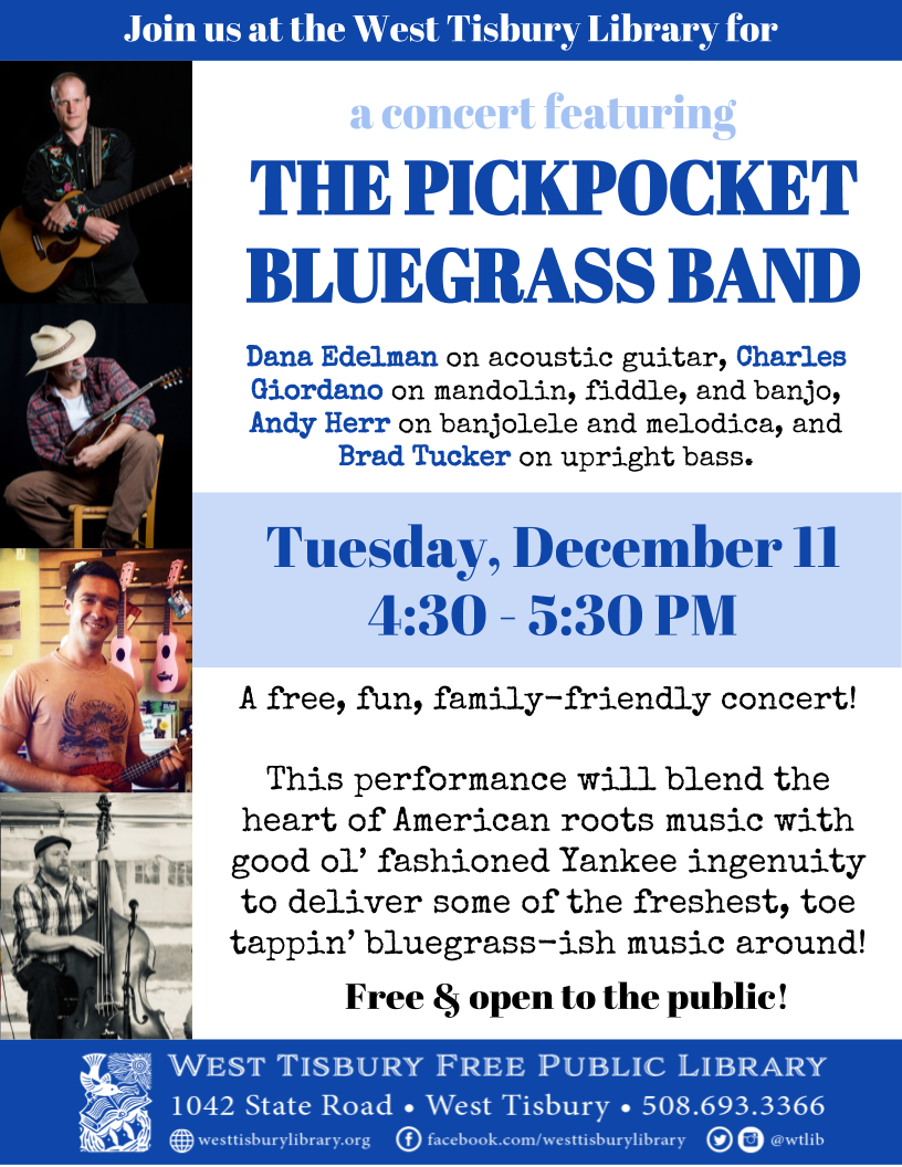 Pickpocket Bluegrass Band Concert