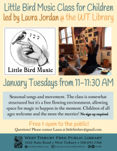 Little Bird Music Class for children of all ages