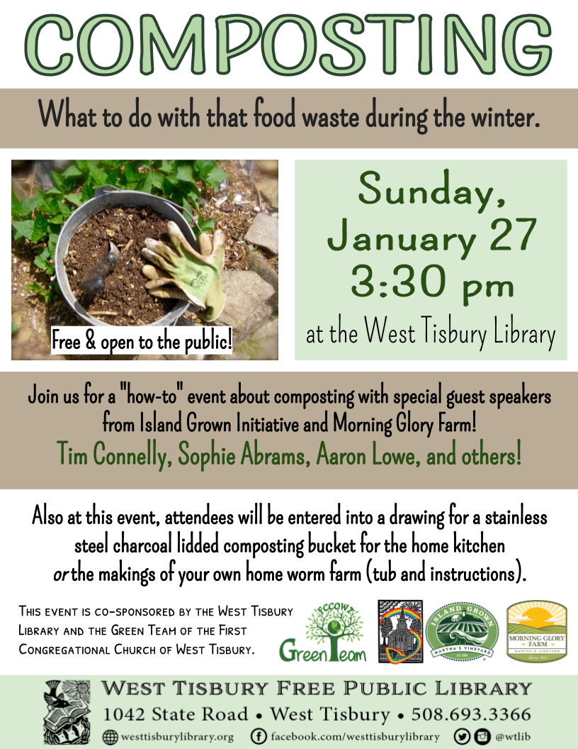 Composting: What to do with that food waste during the winter