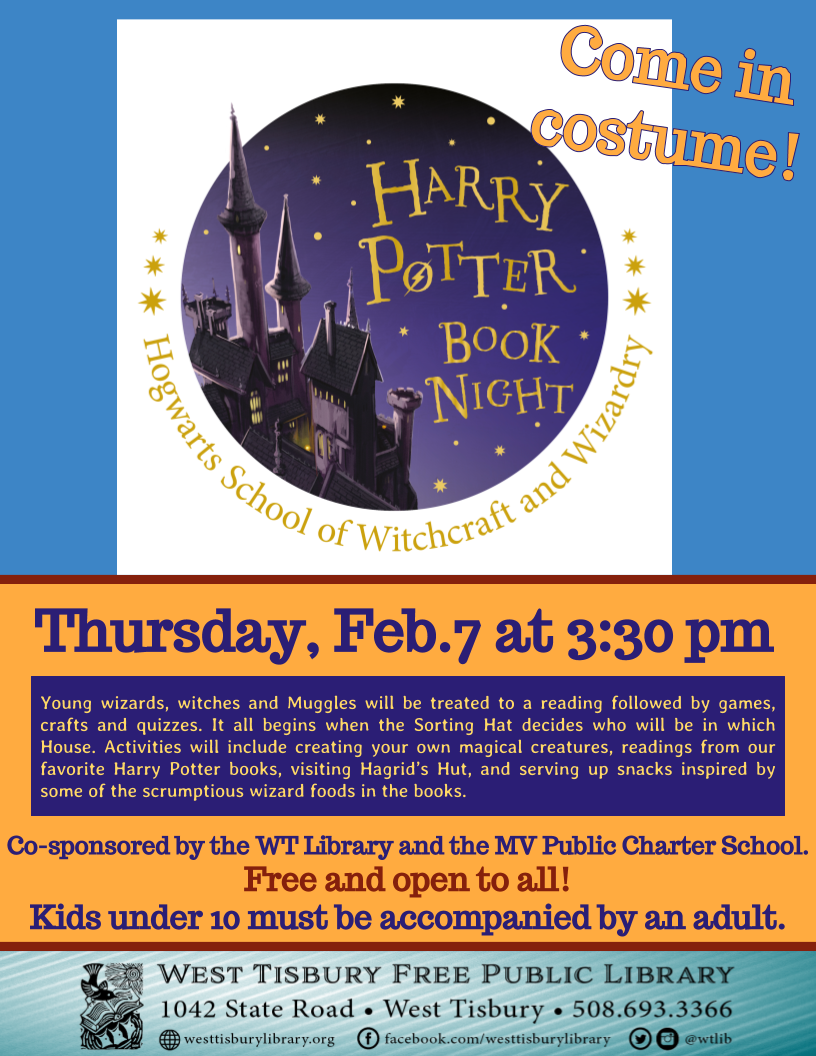 Harry Potter Book Night!
