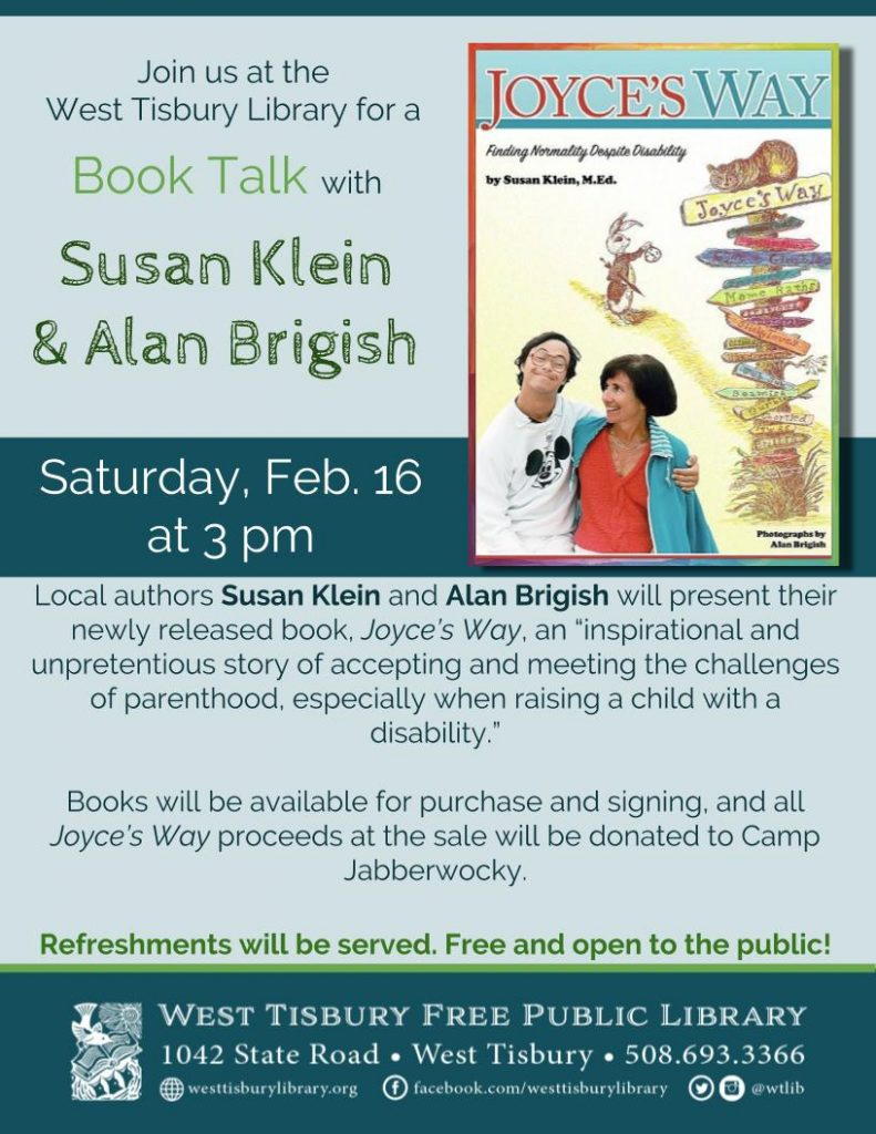 Book Talk: Joyce's Way with Susan Klein & Alan Brigish