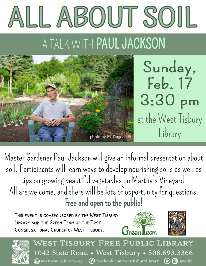 All About Soil: A Talk with Paul Jackson