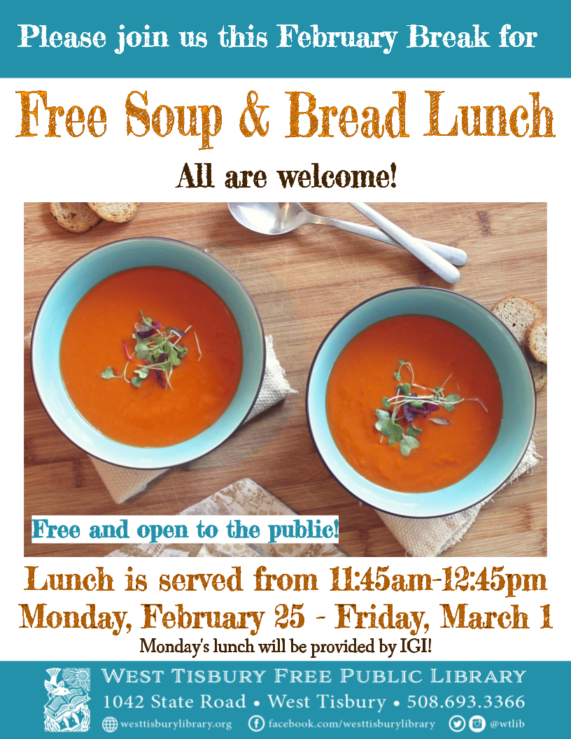 Community Soup & Bread Lunch