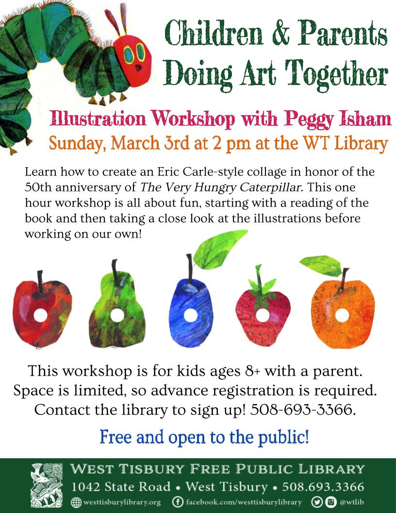 Children & Parents Doing Art Together: Illustration Workshop