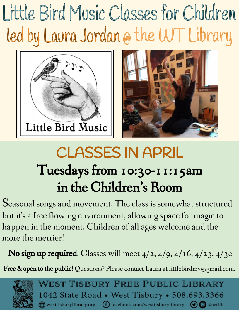 Little Bird Music Classes in April