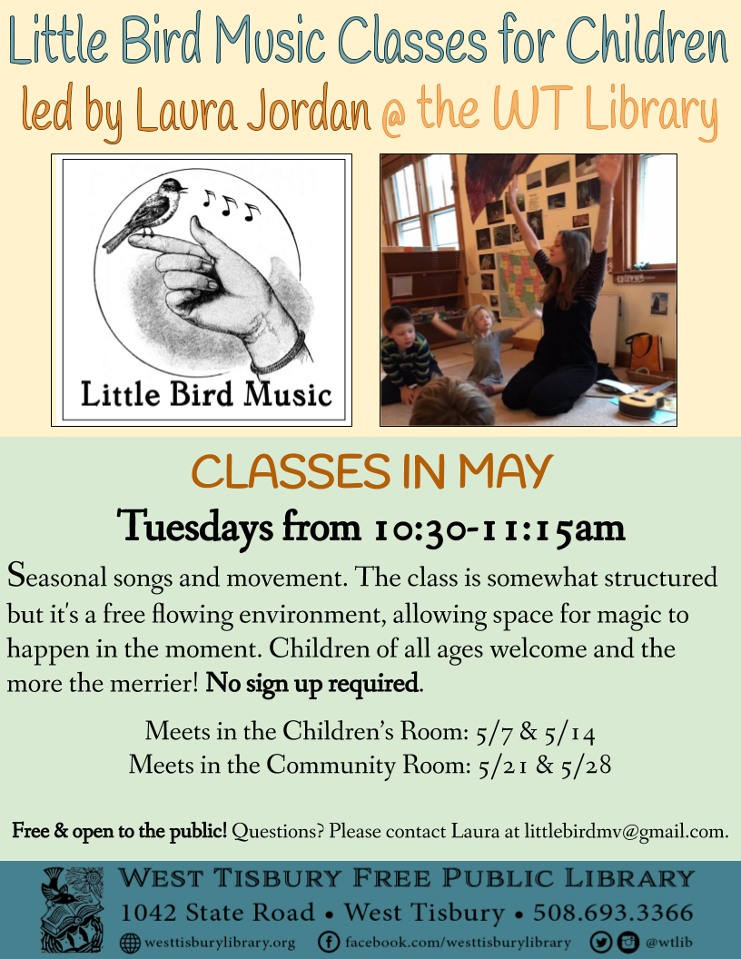 Little Bird Music Classes in May