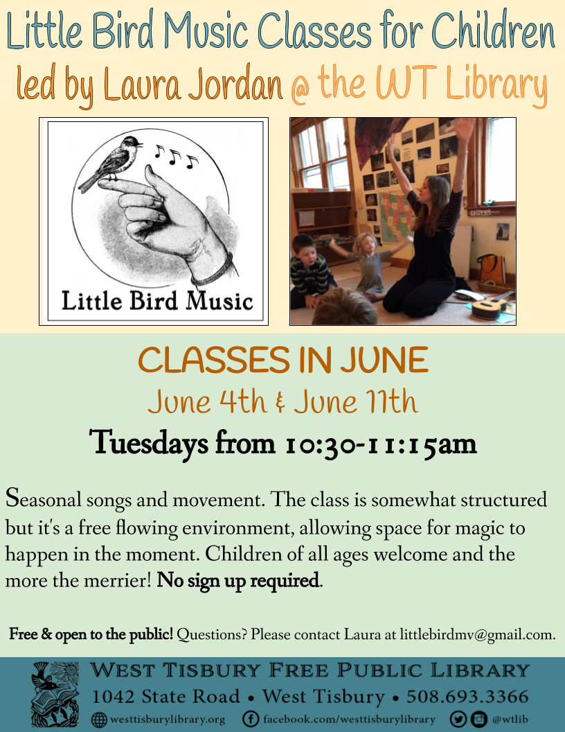 Little Bird Music Classes in June
