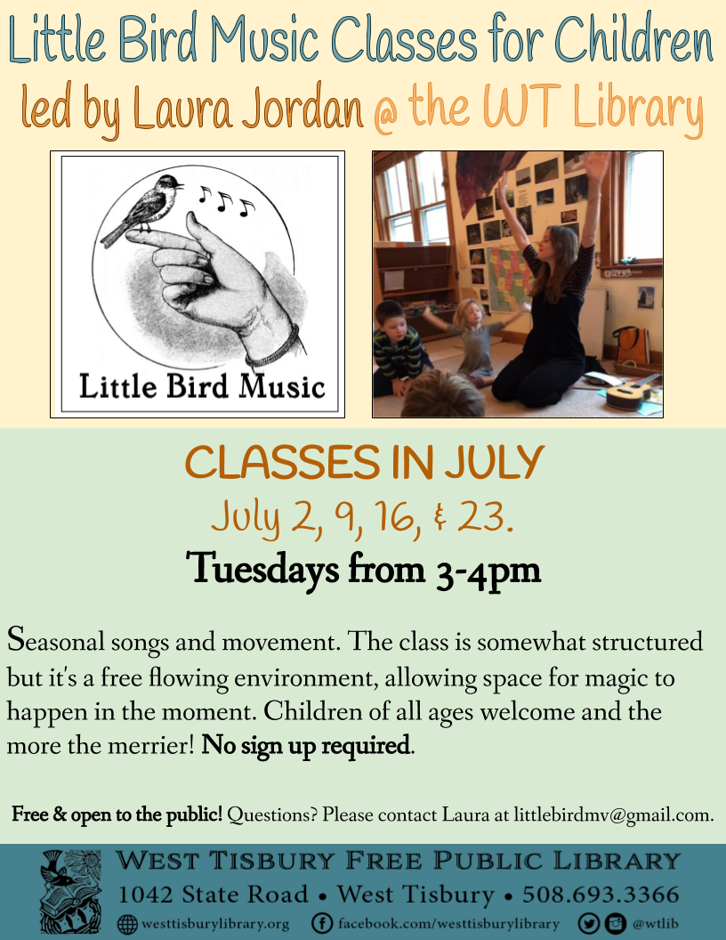 Little Bird Music Classes in July
