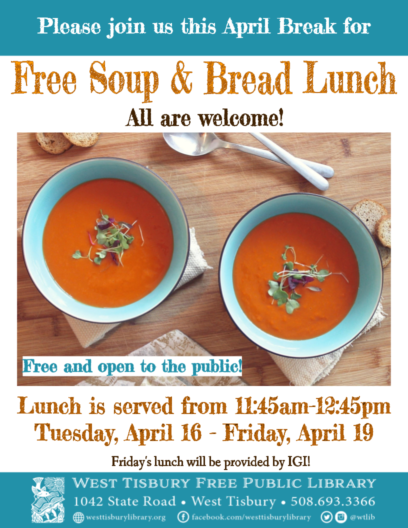 Community Soup and Bread Lunch