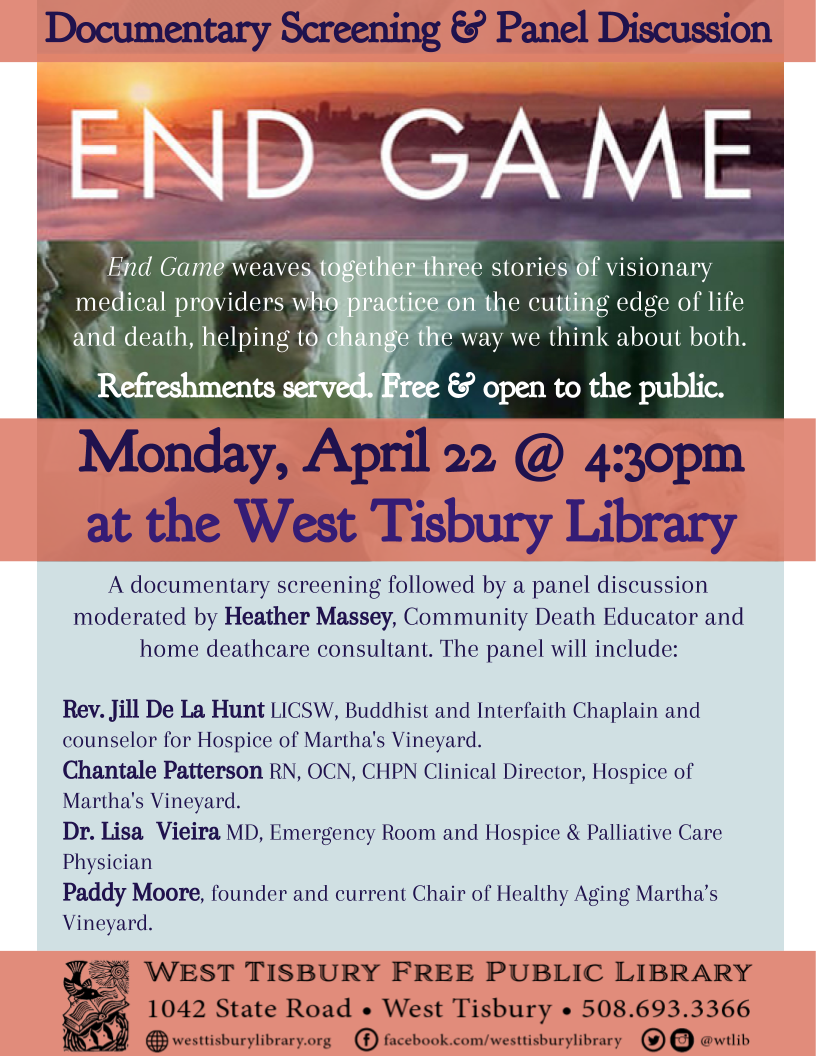 "Film Screening & Panel Discussion: ""End Game"""