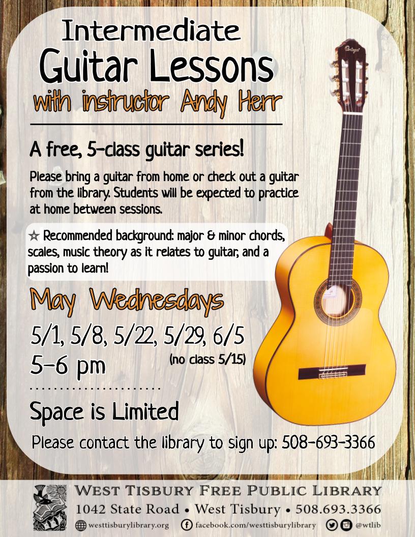 Class full - Intermediate Guitar Class