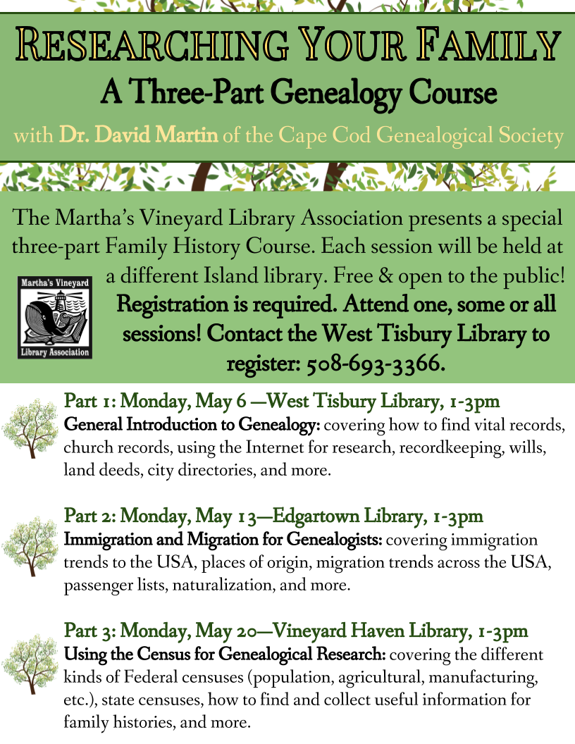 """""""Researching Your Family History"""" Part One: General Introduction to Genealogy"""