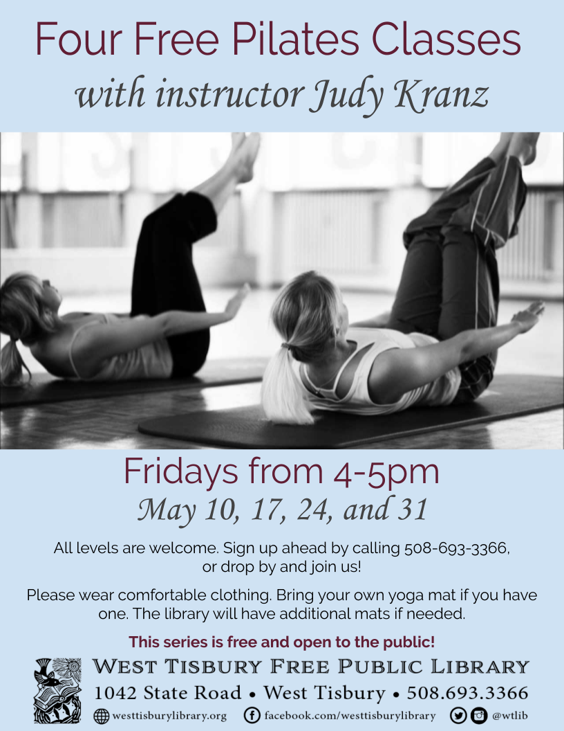 Free Pilates Class with Judy Kranz