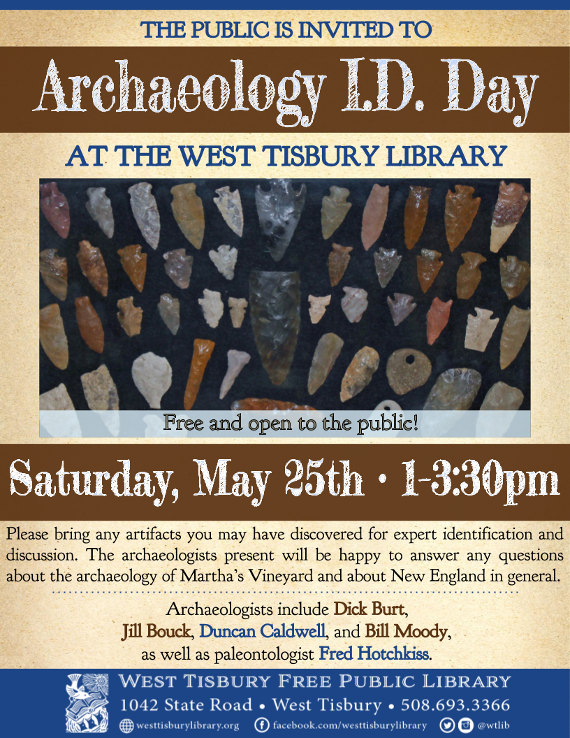 Archaeology I.D. Day!