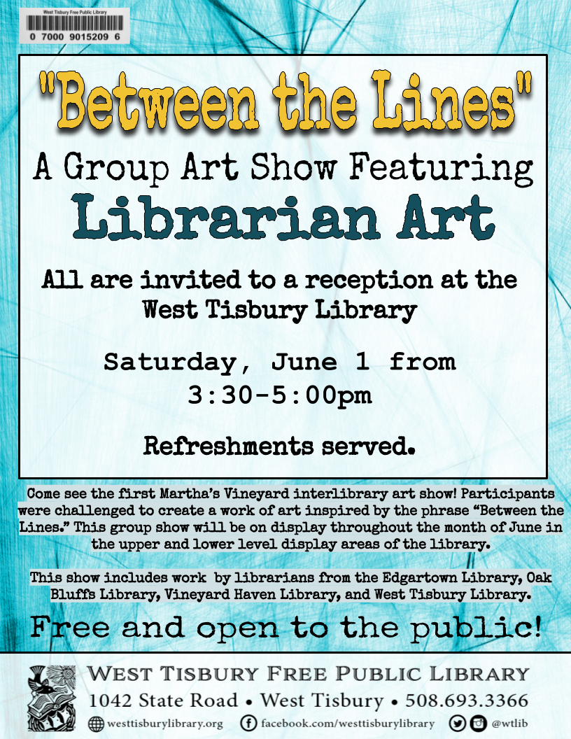 "Art Reception: ""Between the Lines"""