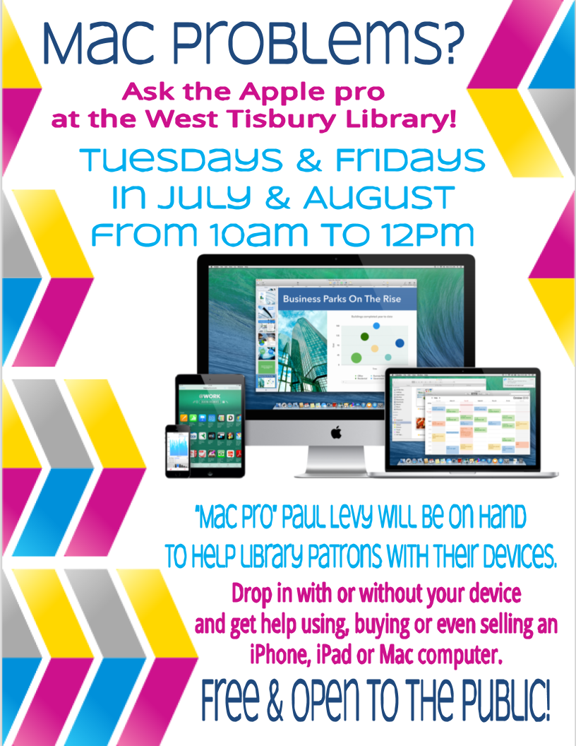 Mac Help Desk at the West Tisbury Library