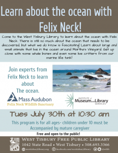 Learn about the ocean with Felix Neck!