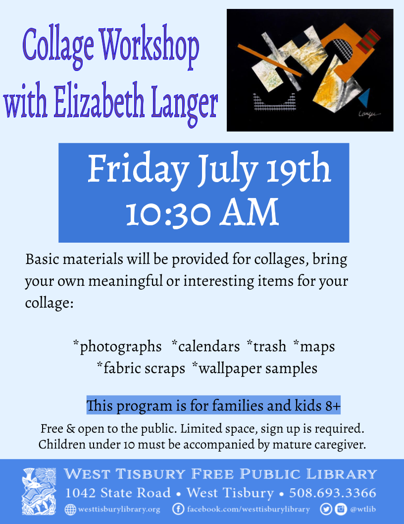 Kids' Collage Workshop with Elizabeth Langer