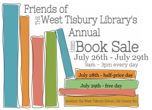 Annual Friend's Book Sale