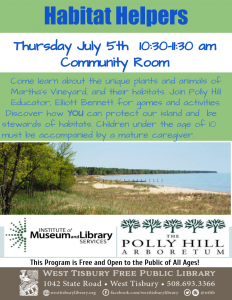 Habitat Helpers with Polly Hill Arboretum