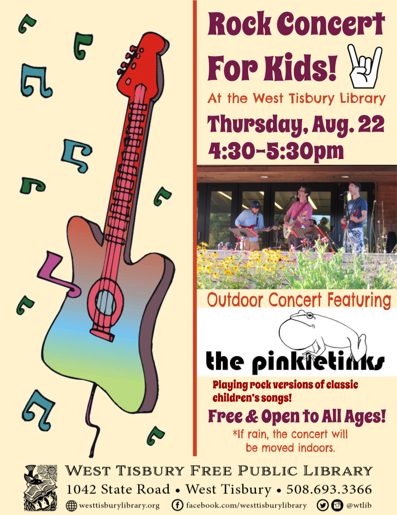 Rock Concert for Kids with The Pinkletinks!