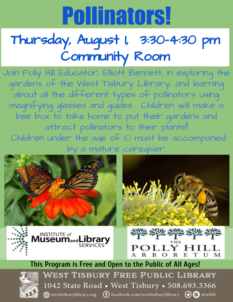 Pollinators with Polly Hill