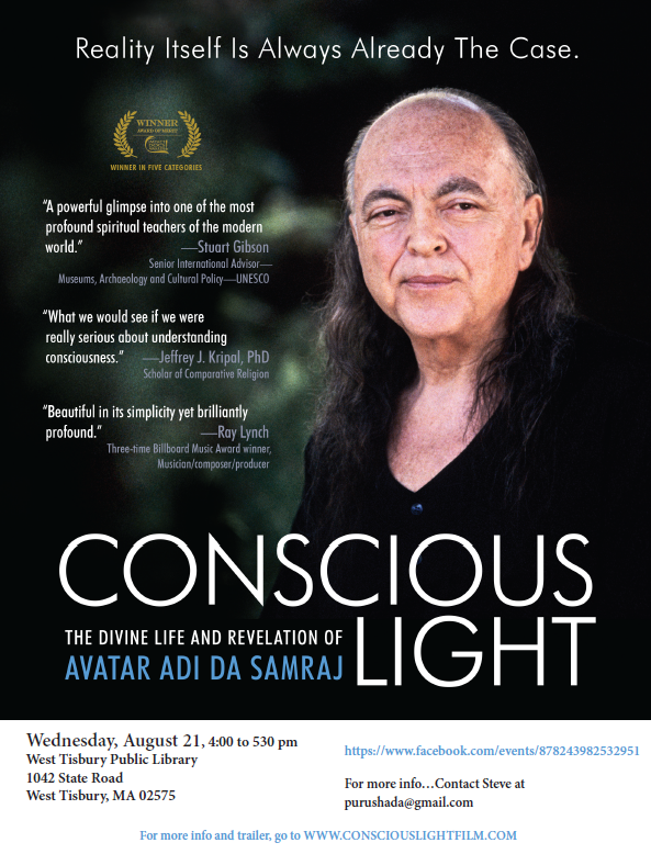 "Film Screening: ""Conscious Light"""