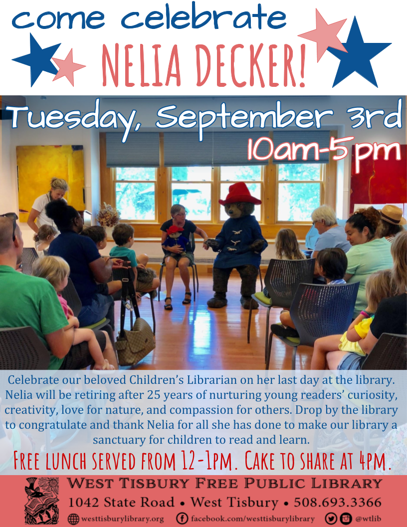 Come Celebrate Nelia Decker!