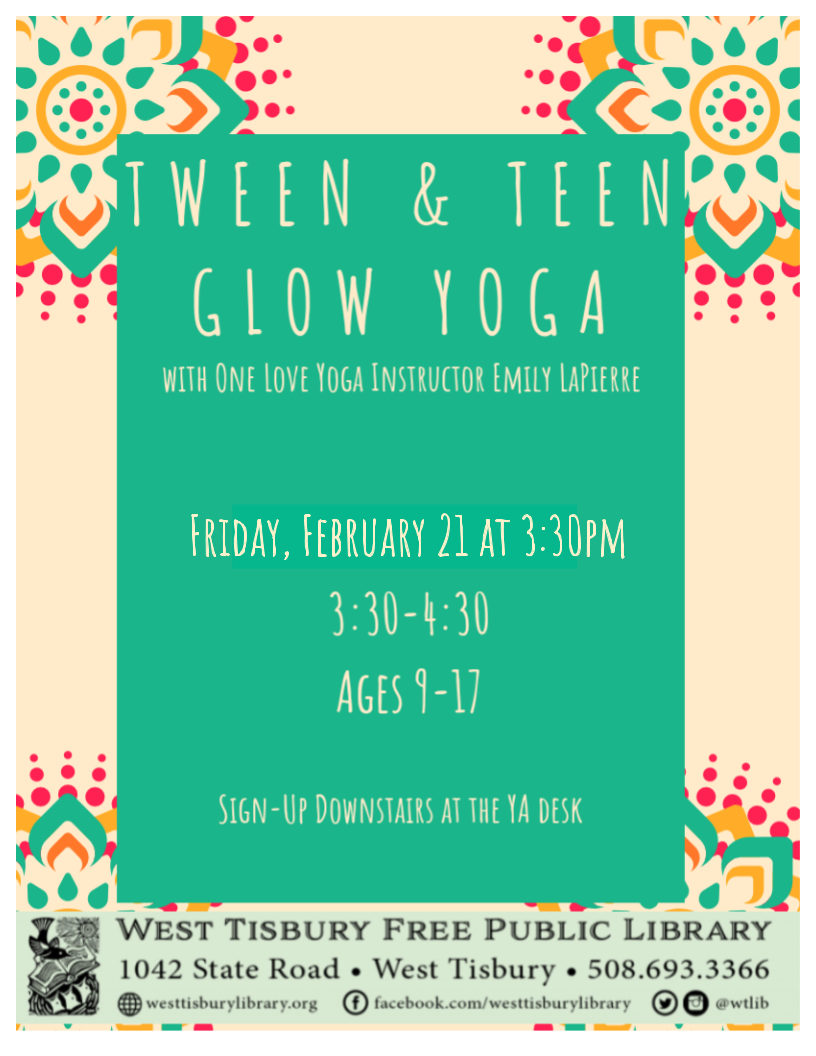 Cancelled - Tween & Teen Glow Yoga