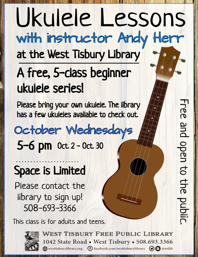 CLASS FULL! Free Beginners' Ukulele Course for Adults and Teens