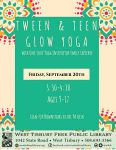 Tween & Teen Glow Yoga
