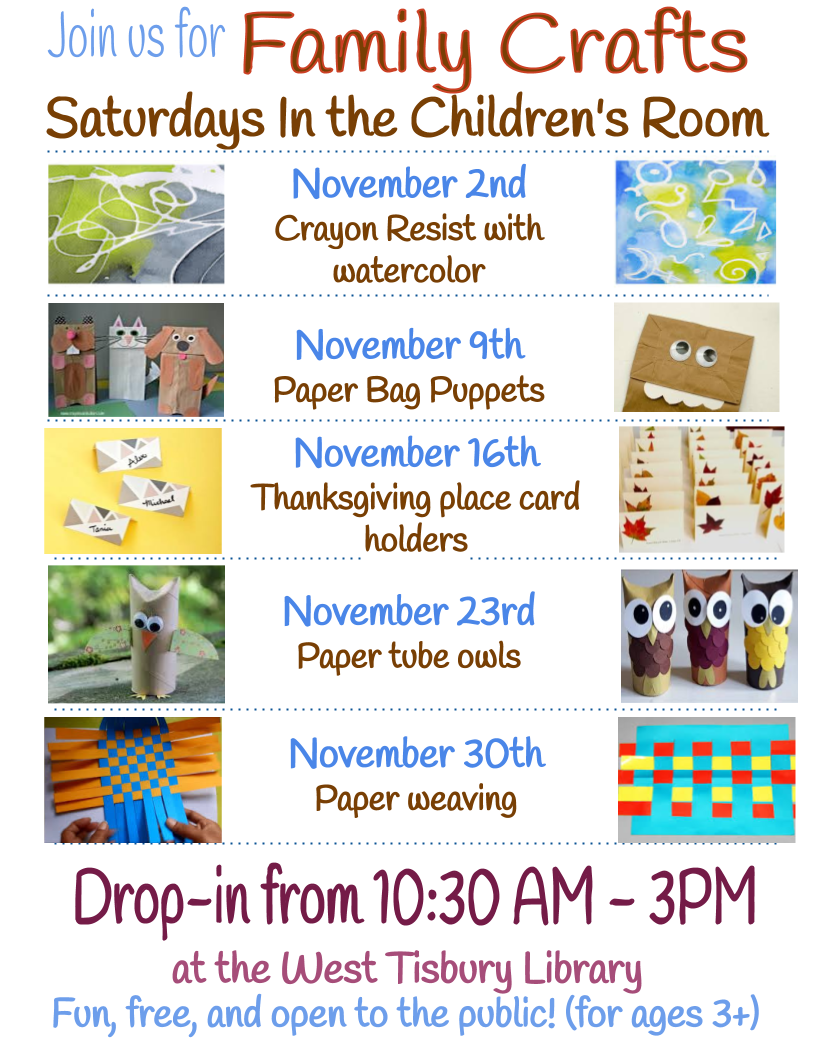 Drop-In Family Craft