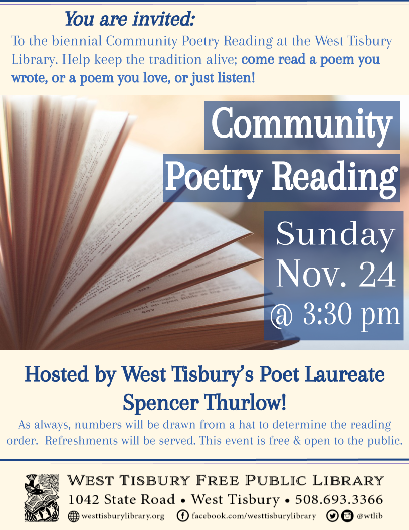 Community Poetry Reading