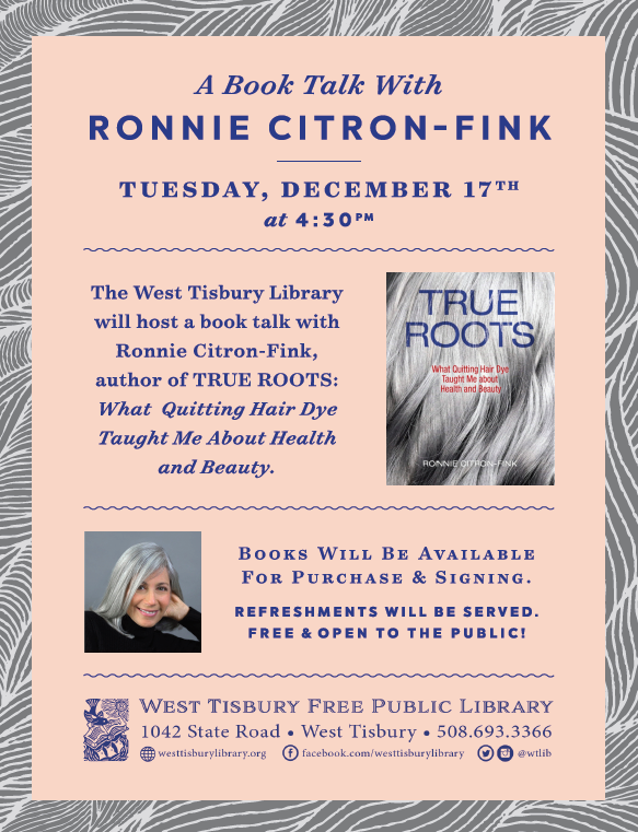 Book Talk with Ronnie Citron-Fink