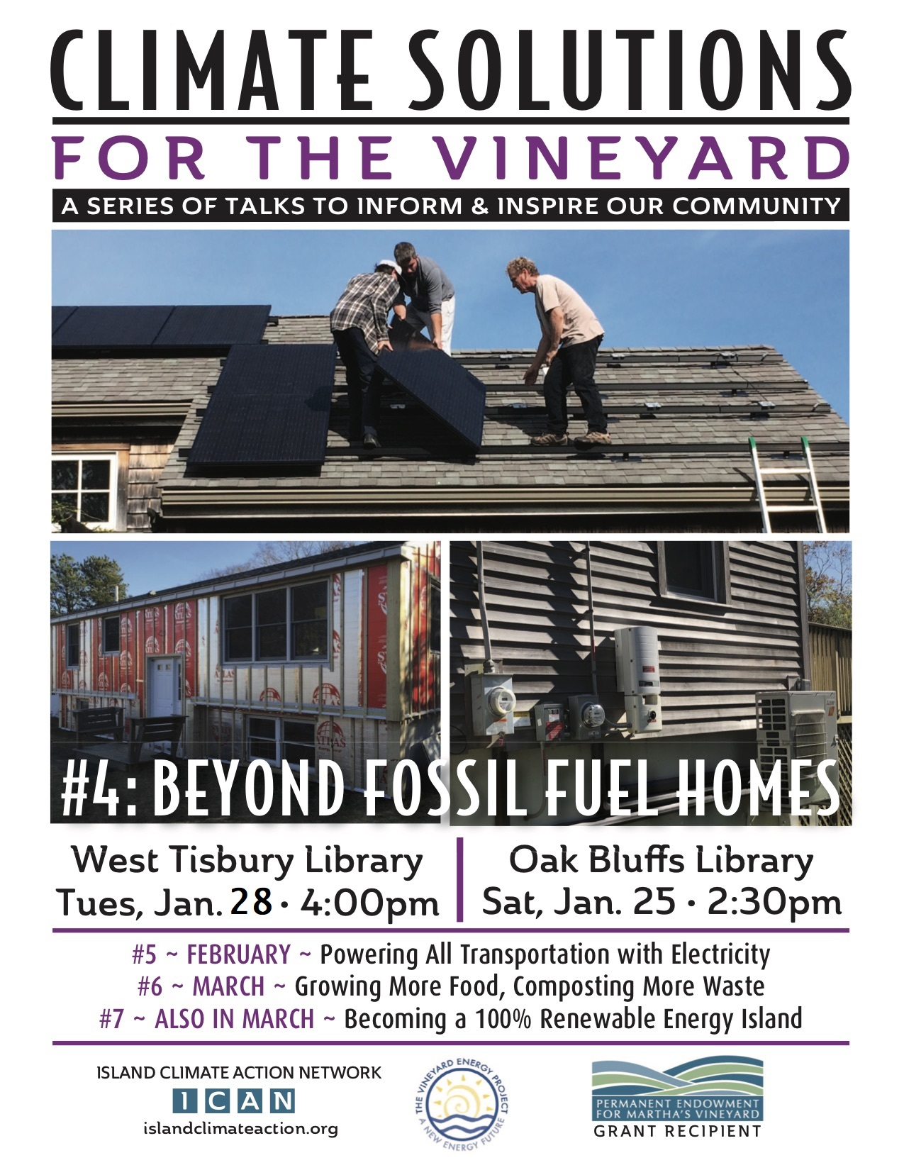 Beyond Fossil Fuel Homes - Climate Solutions Presentation