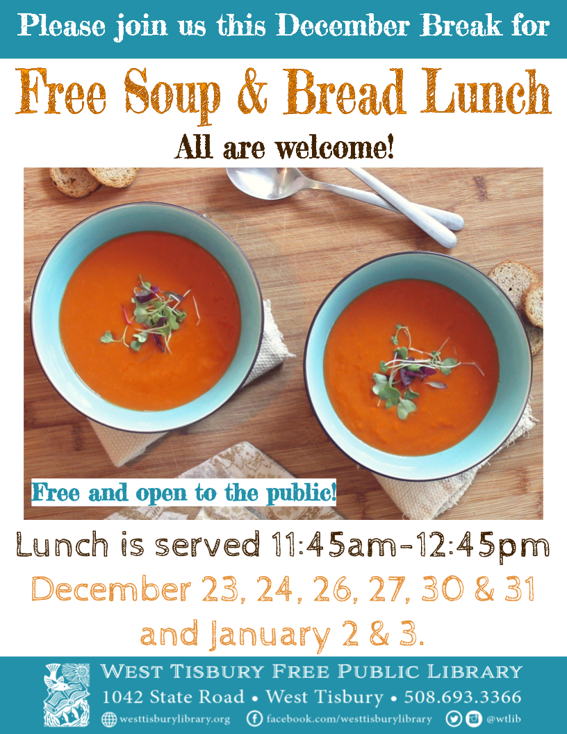 Soup and Bread Lunch
