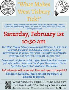 What Makes West Tisbury Tick?