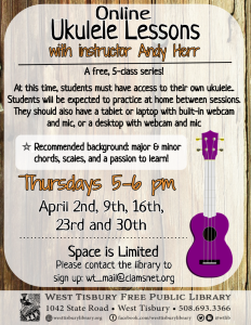 Online Ukulele Course -With Instructor Andy Herr