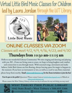 Virtual Little Bird MV Music Class