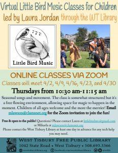 Virtual Little Bird MV Music Class