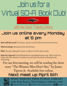 Virtual SCI-FI Book Club!