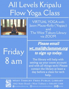 Virtual Yoga: All-Levels Kripalu Flow Class