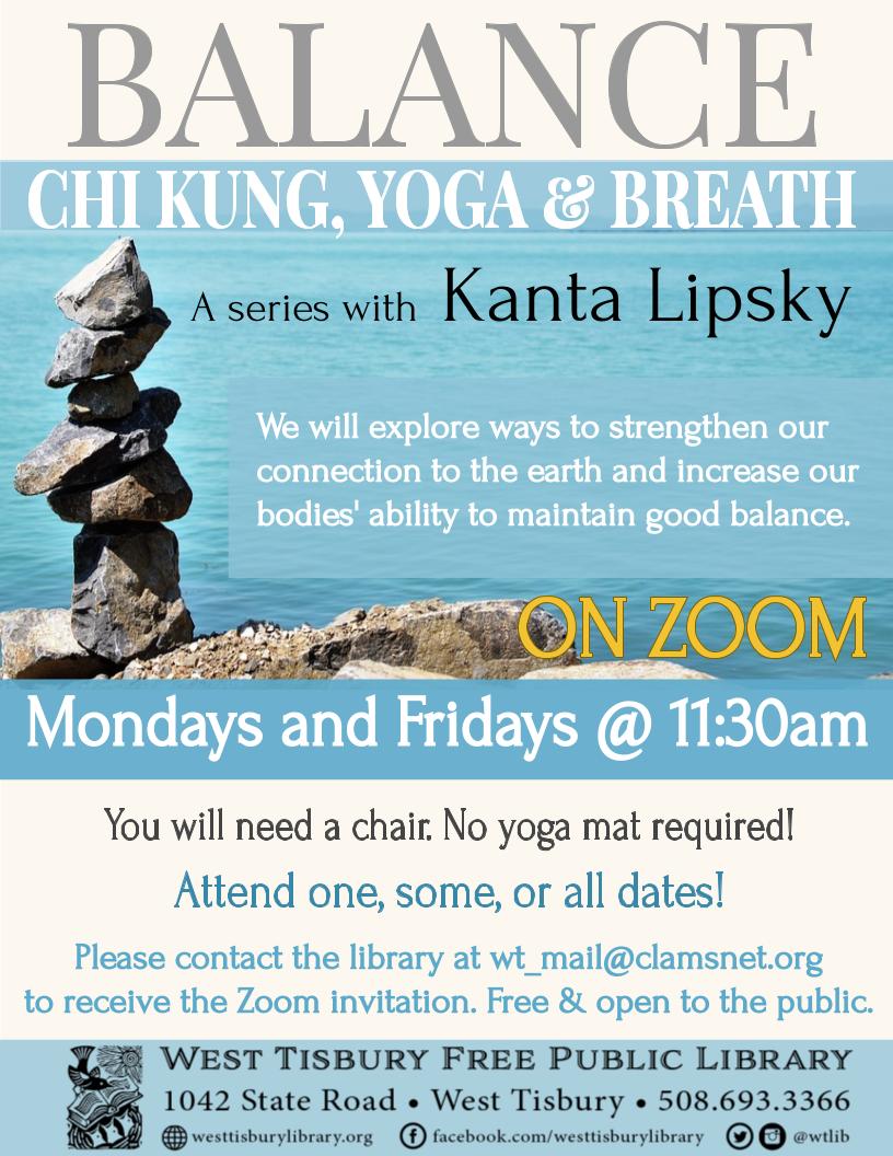 Online! Balance: Chi Kung, Yoga & Breath
