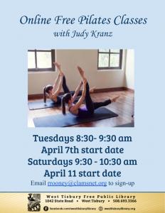 Online Pilates Class with Judy Kranz