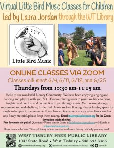 ZOOM- Little Bird Music Class