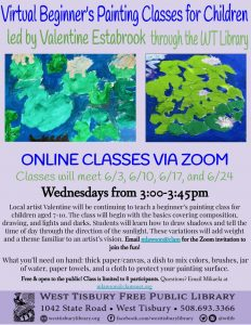 ZOOM- Children's Beginner's Painting Class