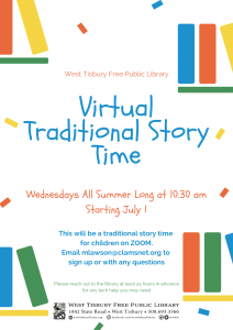 Virtual Traditional Storytime