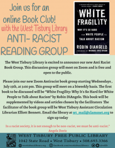 Online Anti-Racist Reading Group